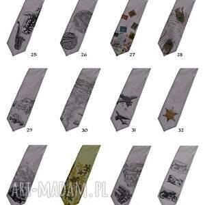 nadruk krawaty krawat z nadrukiem - wilki