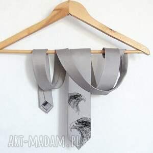krawat z orłem