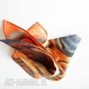 krawaty malowanposzetka ręcznie malowana poszetka