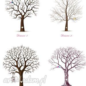księgi gości księga drzewo wpisów weselnych b2