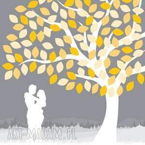 księgi gości drzewo wpisów pary zakochanych