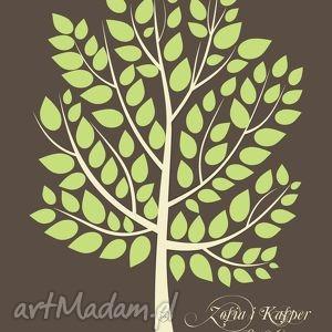 wyjątkowe księgi gości eleganckie drzewo wpisów