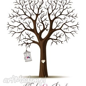 urokliwe księgi gości wesele nowy design! drzewo wpisów