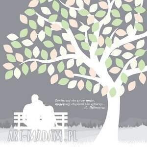 księga księgi gości obraz alaksięga - drzewo