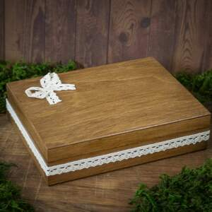 modne księgi gości pudełko na obrączki