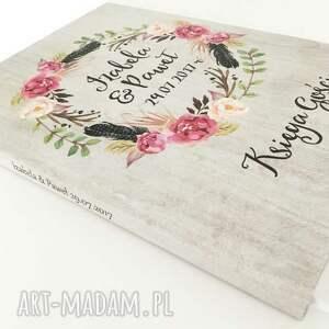 księgi gości romantyczna księga a4