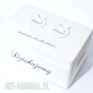 KoloryZiemi hand made księgi gości pudełko na koperty ślubne