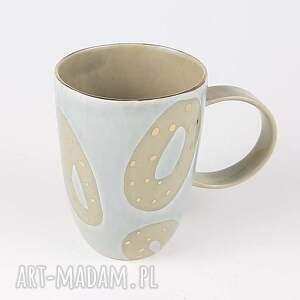 ręcznie robione kubki kamionka kubeczek do kawy