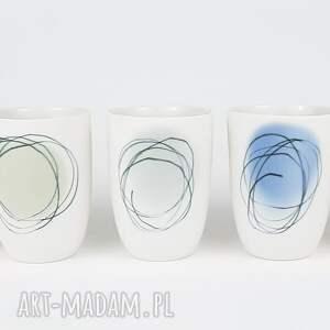 ręcznie robione kubki porcelana kubeczek do kawy
