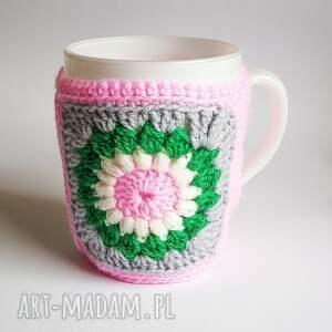handmade kubki kubeczek w sweterku