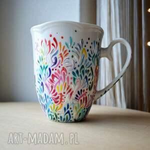kubki: - ręcznie malowany dla mamy