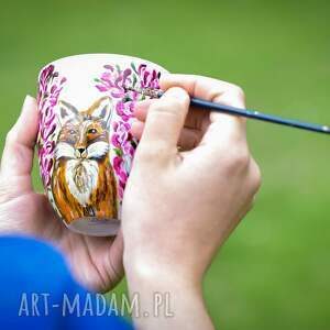 Pracownia Szafran kubki kubek malowany