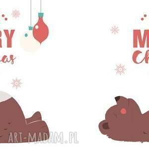 prezenty na święta czerwone kubek - merry christmas