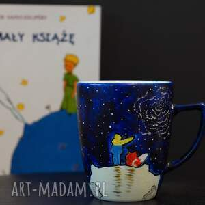ceramika dla domu kubki malowany kubek mały książę lis