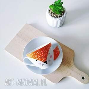 kubki porcelanowa ręcznie malowana filiżanka z lisem