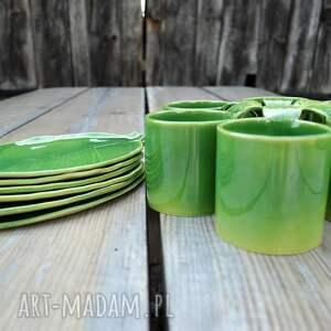 atrakcyjne kubki ceramika zestaw 6 kubków ceramicznych