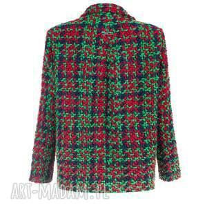 bombka kurtki czerwone bien fashion zielona elegancka
