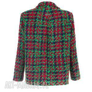 bombka kurtki zielone bien fashion zielona elegancka