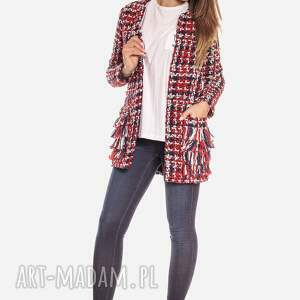 kurtki elegancka bien fashion kolorowa kurtka damska