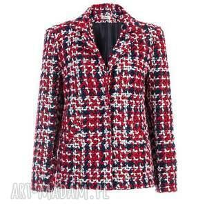 kolorowe kurtki glamour bien fashion kolorowa elegancka