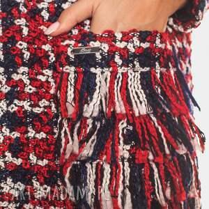 melanż kurtki bien fashion kolorowa kurtka damska