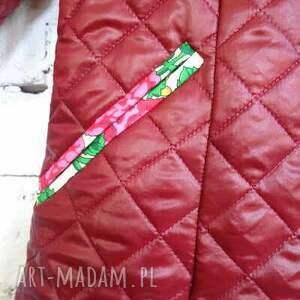 handmade kurtki folk bordo kurtka design aneta