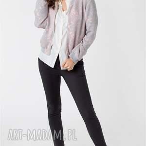 różowe kurtki vintage damska kurtka bomberka retro