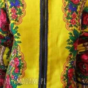 ręcznie robione kurtki folk design - kurtka letnia
