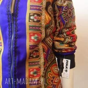 frapujące kurtki kurtka folk design letnia