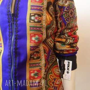 unikatowe kurtki kurtka folk design letnia