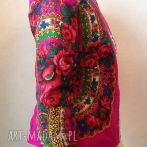nietuzinkowe kurtki folk design- letnia kurtka