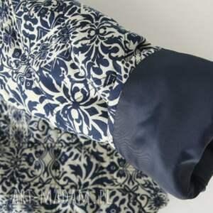 trendy kurtki płaszcz haftowany folkowy kubraczek