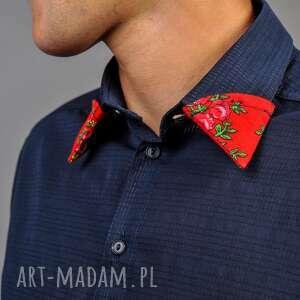 kolorowe kurtki koszule męskie folk design