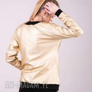 Kurtka Bomberka złota sukienki