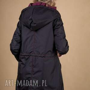 bluza kurtka damska czarna odpinany