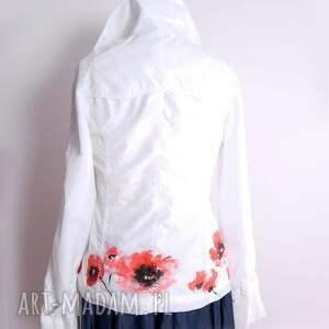 wyjątkowe kurtki kurtka wiosenna malowana ręcznie