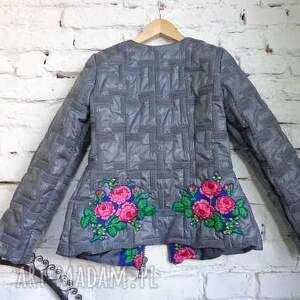 handmade kurtki piękna kurtka folk design aneta