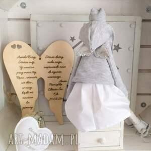 lalki anioł lalka pamiątka chrztu