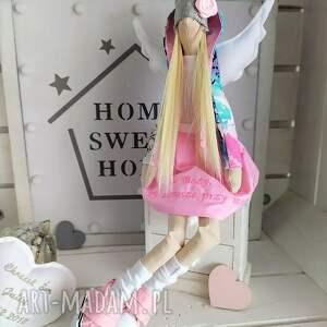 ręcznie wykonane lalki anioł lalka na chrzest