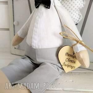 lalka lalki anioł na chrzest