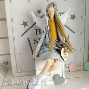 tilda lalki anioł lalka na chrzest pamiątka