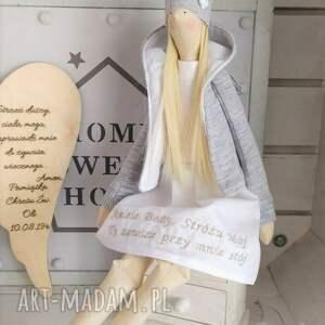 tilda lalki anioł lalka pamiątka chrztu