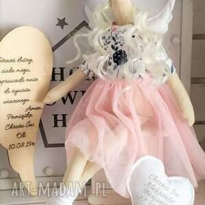 tilda anioł lalka lalki na chrzest święty
