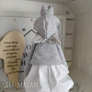 tilda anioł lalka pamiątka chrztu