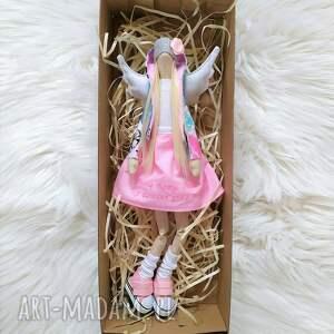 ręcznie wykonane lalki chrzest anioł lalka