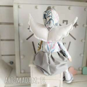 lalki anioł lalka na chrzest pamiątka