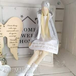 lalki tilda anioł lalka na pamiątkę chrztu modlitwa