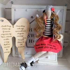 lalki tilda anioł lalka pamiątka chrztu