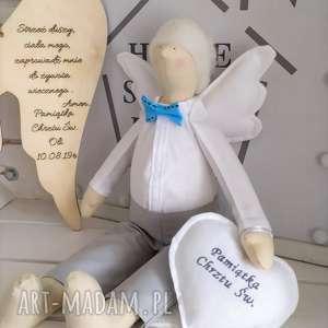 tilda anioł lalka chrzest lalki na pamiątkę chrztu