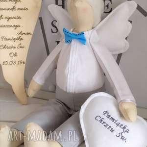 lalki tilda anioł lalka chrzest na pamiątkę chrztu